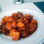recette Ragoût de pomme de terre au merguez