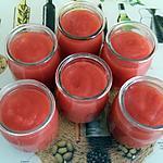 recette compote pommes fraises ( thermomix)