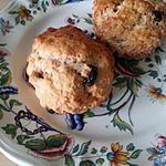 recette Scones cannelle raisins au lait ribot