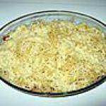 recette gratin de pates au chorizzo