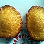 recette Madeleine caramel beurre sale