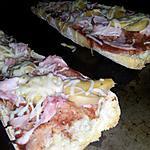 recette Tartines façon Pizza