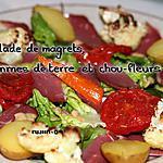 recette Salade de Magrets, pommes de terre et chou-fleurs