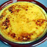 recette Crème Brûlée  Portugaise