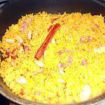 recette Riz grillé aux épices et amandes