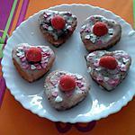 recette MUFFINS Tagada ® COEUR AU NUTELLA