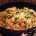 recette Macaronis au curry de porc