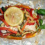 recette Papilotte de cabillaud aux légumes