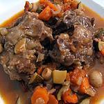 recette Queue de boeuf à l'Andalouse