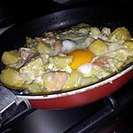 recette Poêlée de pommes de terre au cervelas