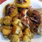 recette Pintade aux abricots et noisettes