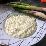 recette Risotto saumon , asperge et philadelphia
