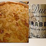 recette Tarte chaude aux mirabelles