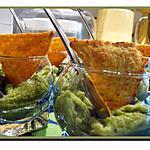 recette Verrines avocats crevettes et gingembre frais