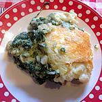 recette Gratin de poisson aux épinards et curry