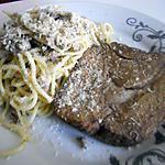 recette Spaguettis aux sardines et viande haché