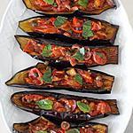 recette entrée aux aubergines