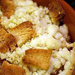 recette Crumble gourmand pomme-poire