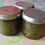 recette Pesto d'ail des ours stérilisé