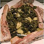 recette Chou Vert frisé à la liégeoise