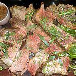 recette Basse cote avec os aux herbes