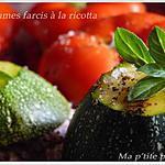 recette Légumes farcis à la ricotta