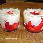 recette TIRAMISU AUX FRAISES AMARETTO