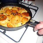 recette Omelette de mon chéri pomme de terre chorizo persillade