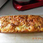 recette Cake chorizo mozzarella lardons