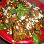 recette Tajine de dinde au miel et raisins