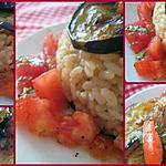 recette Medaglioni di riso alle malanzane