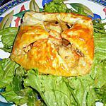 recette Feuilleté aux crevettes
