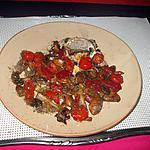 recette légumes    au miel,  cumin; coriande moulu
