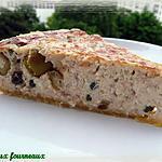 Quiche au thon, aux olives & aux câpres