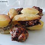 recette Pommes de terre farcies (recette de Jeanmerode)