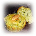 recette Mini-cakes courgettes parmesan amandes