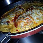 recette Echine de porc gratinée à la mozzarella