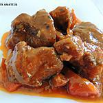 recette Sauté de porc en sauce