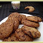 recette Cookies Carambars, chocolat et cacahuètes