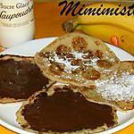 Délices des îles coco-bananes-choco