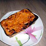recette Cake aux thon,légumes, parmesan.