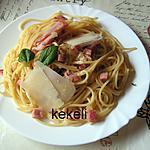 recette Spaghetti au jambon de parme