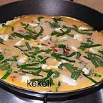 recette Omelette à l'ail des ours