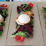 recette Salade au Cabecou du Périgord