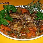 recette Collier d'agneau à la menthe