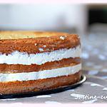 recette Le gâteau Coco (chocolat blanc/noix de coco/framboise)