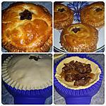 recette Tourtelette au bœuf sauté aux oignon - Tupperware