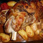 recette Epaule d agneau rotie au romarin