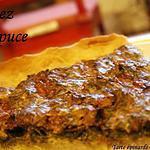recette Tarte épinards & chèvre