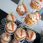 recette Cupcakes Carrot Cake